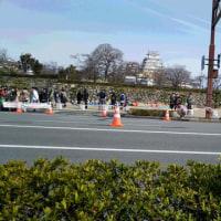 姫路城マラソンを応援した後は・・