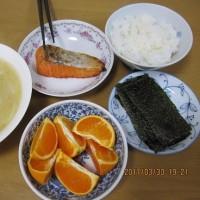 シンプル・夕ご飯