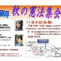 11.3秋の憲法集会(水道橋)