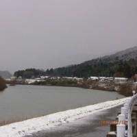 日野川冬景色