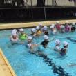 1・2年生が着衣泳をしました。