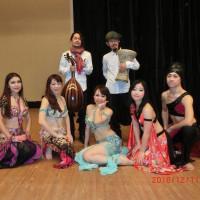12・11は Nur vol5 - Esmeralda belly dance school 発表会でした。
