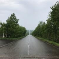 2017北海道 天に続く道 ーーまっすぐな道、天に向かって走ります!!ーー