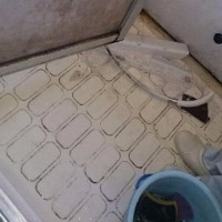 浴室タイルのカビ 横浜市栄区