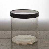 蓋つきガラス容器