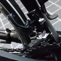 ロードバイクのフレームを交換
