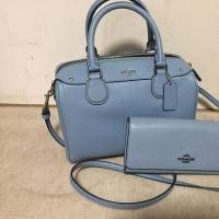 お気に入りのCOACHのバッグと長財布、自分へのBirthday Presentです❣