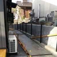倉敷市呼松で追加工事の石垣補強も無事完了