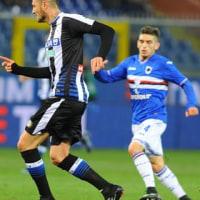 2016-17 SERIE A 第18節 SAMPDORIA 0-0 Udinese 2016年最終戦はスコアレスドロー