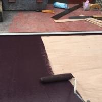 冬の寒さに逆戻り 木製雨戸の板を張り替えて 塗装仕上げ 茨城 利根