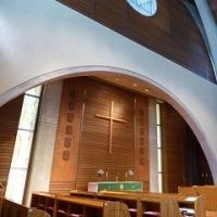 1174 「立教女学院、森の中の聖マリア礼拝堂」