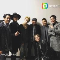 jungyoukeunさんinstagram グンちゃん かわいい(^○^) ジェジュンさんコンサート お友達と