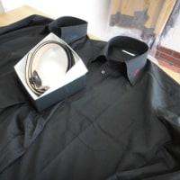 ys-styleの新しいカッターシャツとオーダーしたベルト