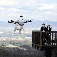 空を歩く白い犬「雪丸」