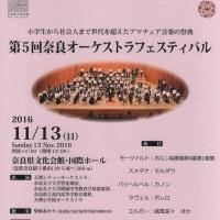 昨日のオーケストラフェスティバルの練習(10月21日)