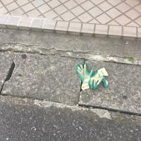 日乗 diary - 落としモノ 手袋126 lost glove126