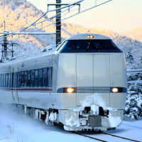 久しぶりの雪の山陰本線、福知山線撮影