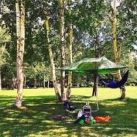 空中テント「テントサイル」