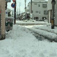雪の桑名&四日市です。^。^。