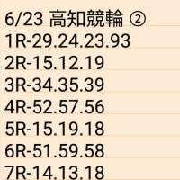 🚴 6/23 高知競輪 ②