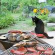 ヒグラシ鳴く黒猫の庭~BBQ~