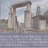 20110910下野新聞 栃木の現状 食の安全特集(4)~水道水について~