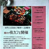 6月11日(日)婚カツ応援 夜カフェ開催のお知らせ