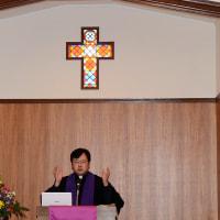 ときわ台キリスト教会・橘内牧師の最後の説教を聞く。