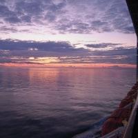 アドリア海の夕景(その1)