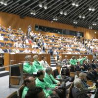 世界遺産登録推進講演会が開かれた。
