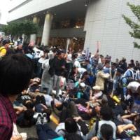 奴らを止めるために/新横浜「安保関連法案地方公聴会」抗議行動