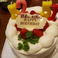 Birthdayパーティー・間﨑さん&村岡さん