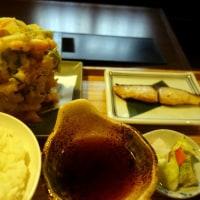 かき揚げ定食 Un tempura ramassés