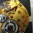 クイーンセイコー手巻き時計を修理しました