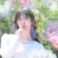 花咲く春のそよ風はハープの音色... (花咲あんな さん) -ポートレート-