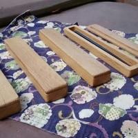 木製手づくり楢材の箸箱