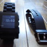 pebble watchのベルトを交換