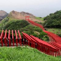 元乃隅稲成神社の鳥居(長門)