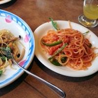 昨日のお昼ご飯はスパゲッティ