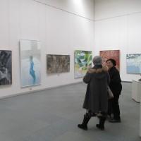 自由美術展へ