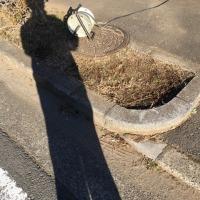 茨城 車庫入れする 歩車道の危険な段差と オープンスペースを拡張