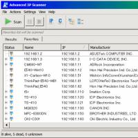 Advanced IP Scanner がバージョンアップ