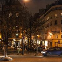 夜パリ散策