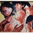 広島被爆者の半生を描いた紙芝居「高橋久子物語」を読ませていただきました