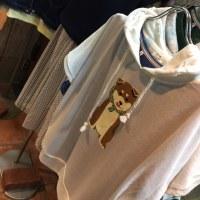 こんなカジュアルスカートは密かに人気!  そして柴犬