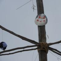 安曇野市穂高塚原幅上の御柱