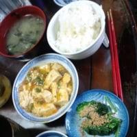 6月18日の夕飯のメニュー