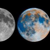 私たちが見ている月と実際の月の色は違う⁉︎