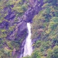 小谷村の滝  尾丸滝
