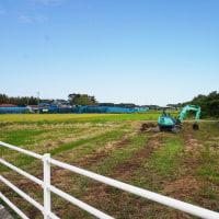 ちょっと良い貸家プロジェクト!『 岬町中原のリノべ風?な貸家 』。土地造成工事開始!です。